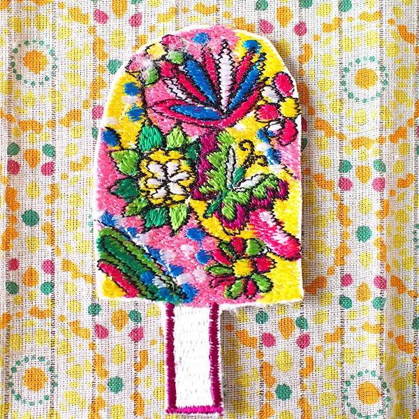 キノコ 刺繍 ワッペン【画像6】