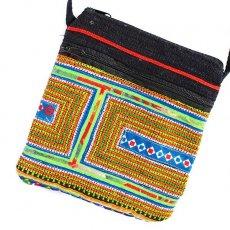 ベトナム モン族刺繍 ショルダーポーチ(C)
