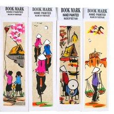 ベトナム 手描きしおり【Hand peinted book mark】(A)
