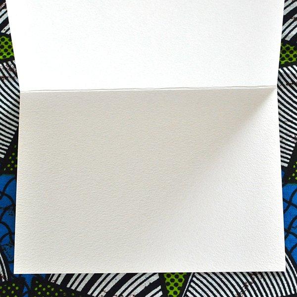 ティンガティンガアート クリスマスカード(2色)【画像5】