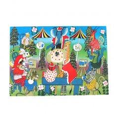 ティンガティンガアート クリスマスカード(2色)