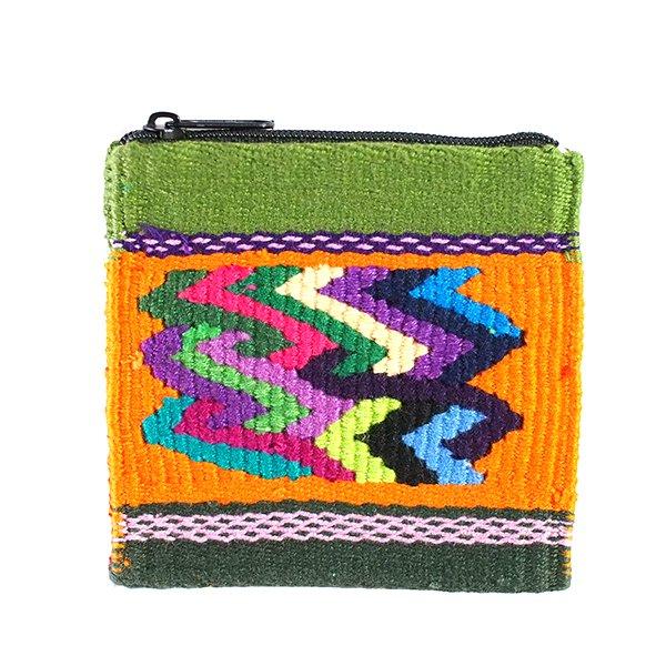 グアテマラ つづれ織り コインケース(A)【画像3】