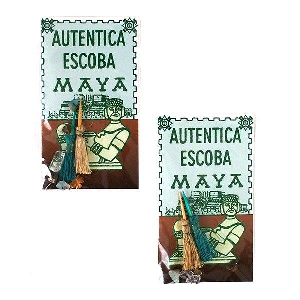 世界のお守り メキシコ  マヤのホウキ