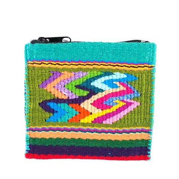 グアテマラ カラフルなコインケース(つづれ織り)【画像6】