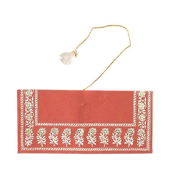 インド chimanlals(チマンラール)の封筒 小花 A【画像6】