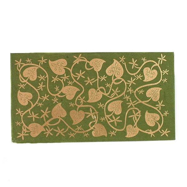 インド chimanlals(チマンラール)の封筒 葉っぱA【画像5】