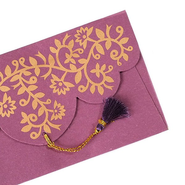 インド chimanlalsの封筒(ツルクサA)【画像4】