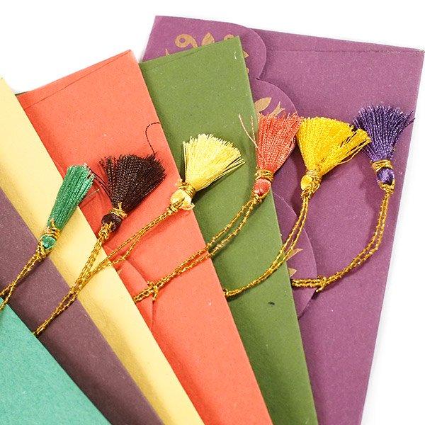 インド chimanlalsの封筒(ツルクサA)【画像6】