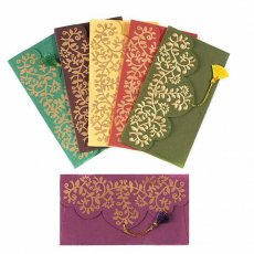 インド chimanlals(チマンラール)の封筒 ツルクサA