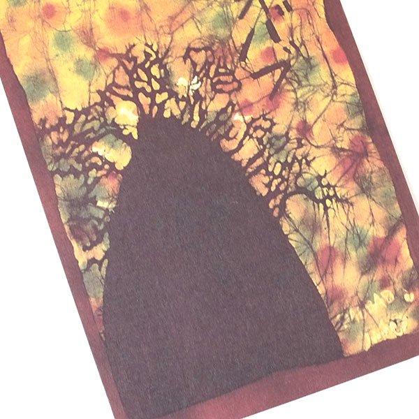 アフリカ バティック ポストカード【BAOBAB バオバブ】【画像4】