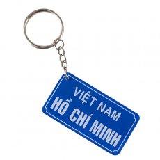 ベトナム キッチュなキーホルダー(数字・ナンバー)