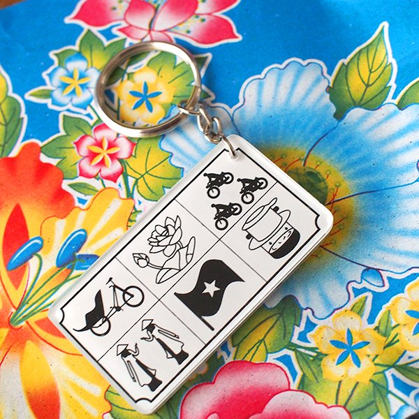 ベトナム キーホルダー(コーヒー・蓮・アオザイ)【画像3】