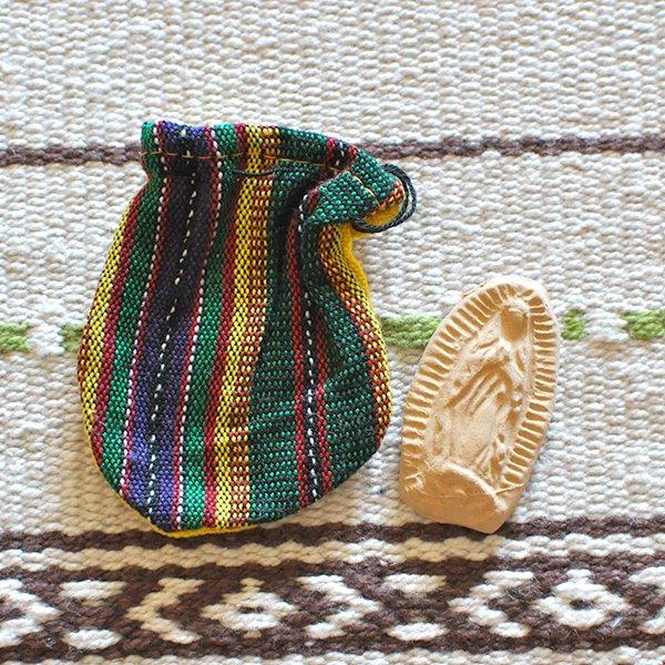 世界のお守り メキシコ グアダルーペ(マリア様)のお守り袋【画像2】