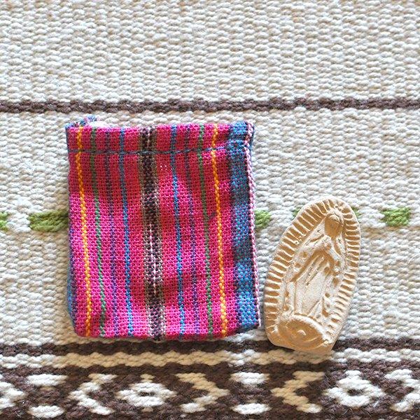 世界のお守り メキシコ グアダルーペ(マリア様)のお守り袋【画像4】