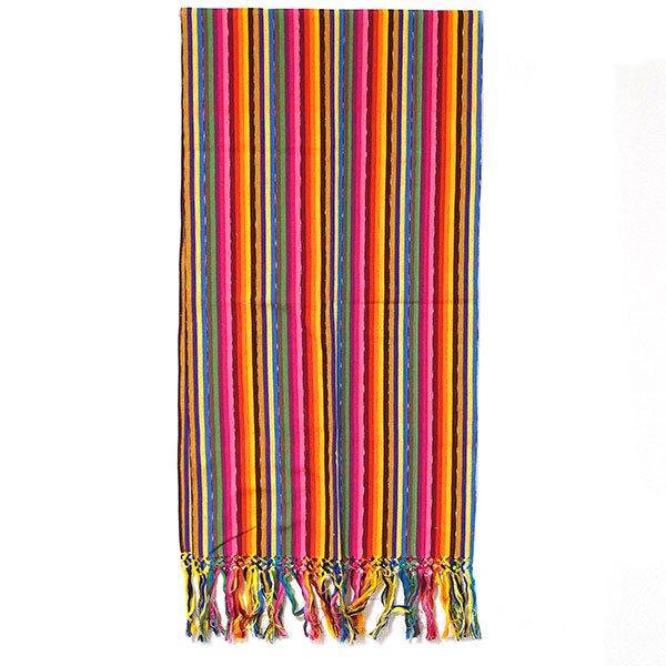 グアテマラ レボソ手織りのショール【画像2】