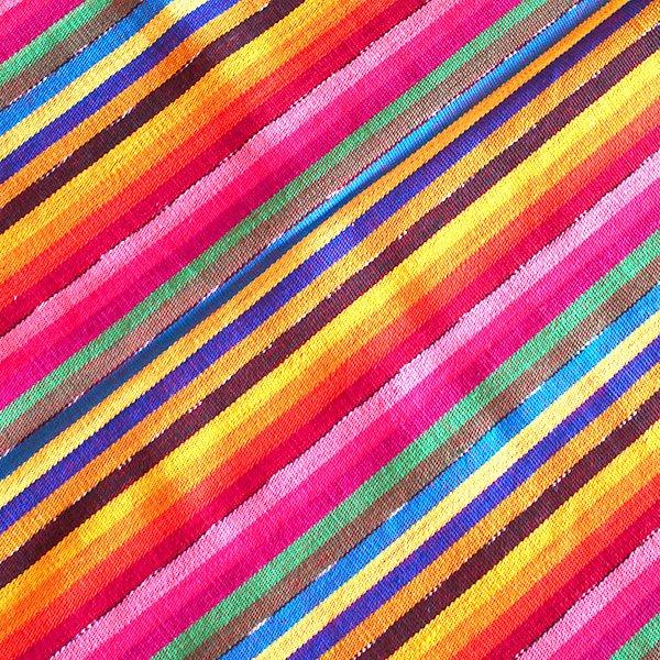 グアテマラ レボソ手織りの布【画像3】