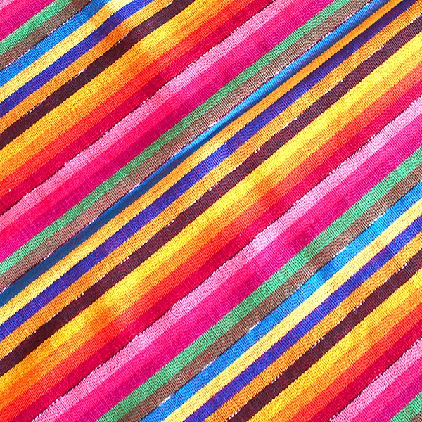 グアテマラ レボソ手織りのショール【画像3】
