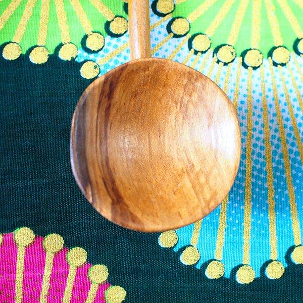 ケニア 木製 スプーン(シマウマ・ヒョウ・キリン)【画像8】