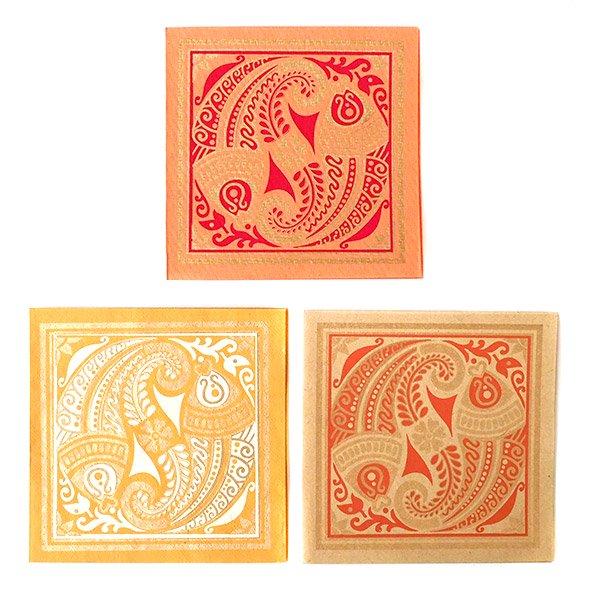 インド chimanlals(チマンラール)メッセージカード MEENAKSHI 魚(封筒付き)