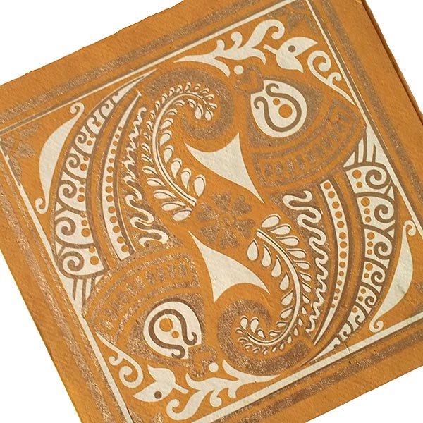 インド chimanlals(チマンラール)メッセージカード MEENAKSHI 魚(封筒付き)【画像3】