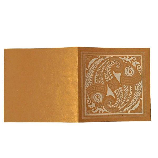 インド chimanlals(チマンラール)メッセージカード MEENAKSHI 魚(封筒付き)【画像4】