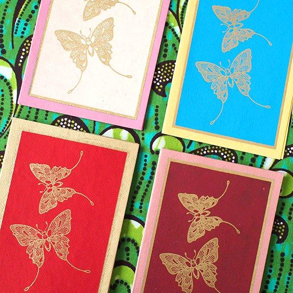 インド chimanlals(チマンラール)メッセージカード TITLI バタフライ(封筒付き)【画像3】