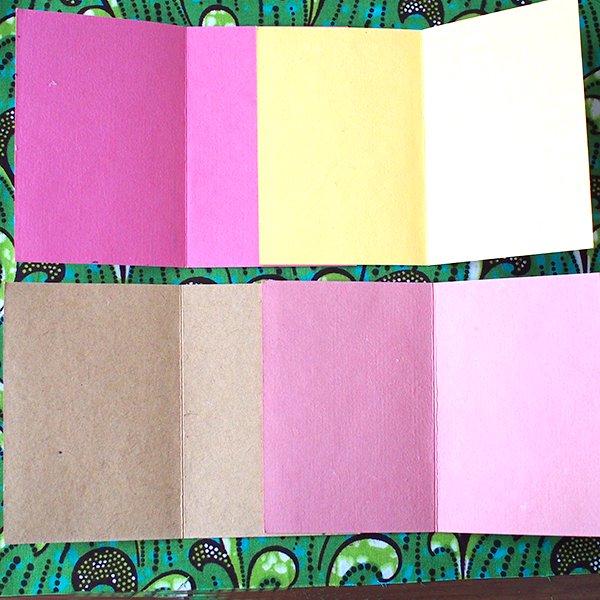 インド chimanlals(チマンラール)メッセージカード TITLI バタフライ(封筒付き)【画像4】