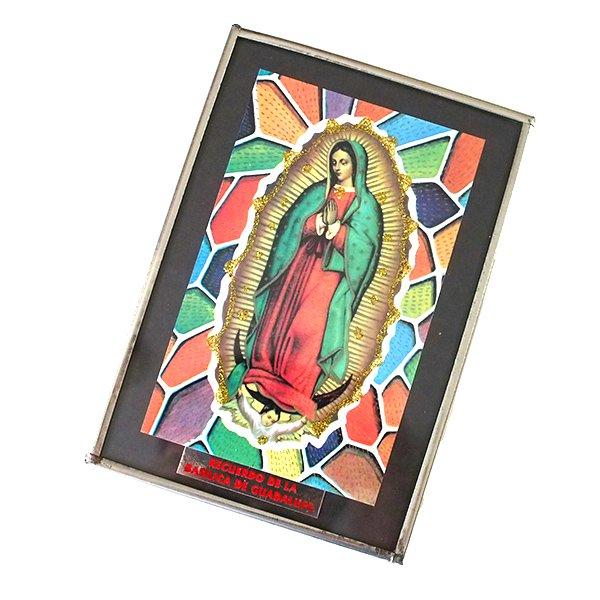 メキシコ グアダルーペ マリア壁掛けフレーム