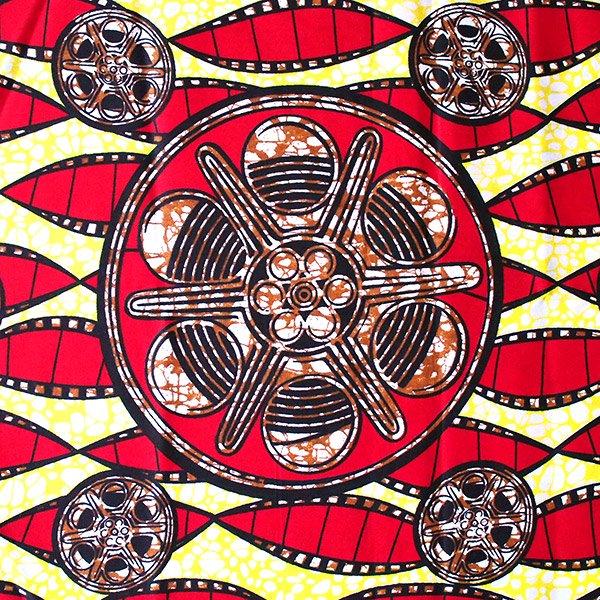 アフリカの布 パーニュ(フィルム柄)【画像2】