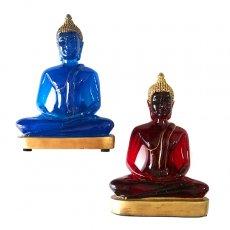 赤・レッド 雑貨 ベトナム スケルトン 仏像