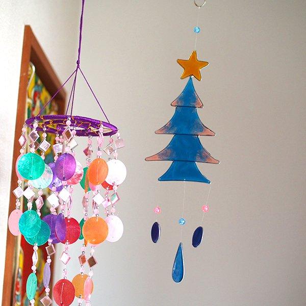 インドネシア クリスマス ツリー オーナメント(3色)【画像5】