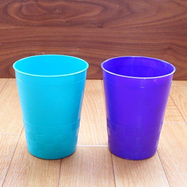 セネガル プラスチックコップ(0.4リットル 5色)【画像3】