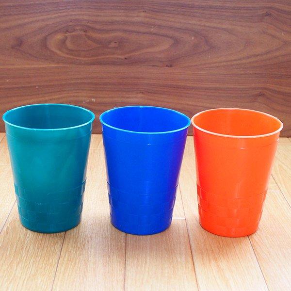 セネガル プラスチックコップ(0.4リットル 5色)【画像4】