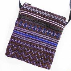 古布バッグ ベトナム モン族刺繍 ポシェット