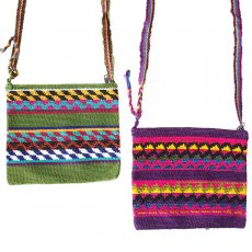 グアテマラ 雑貨 グアテマラ クロシェ編み ショルダーバッグ