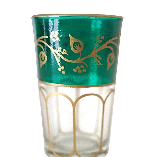 モロッコ プリントグラス(模様 6色)【画像4】