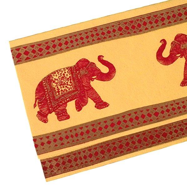 インド  chimanlals (チマンラール) ゾウ メッセージカード(封筒付き)【画像4】