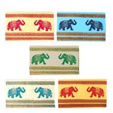 インド  chimanlals (チマンラール) ゾウ メッセージカード(封筒付き)