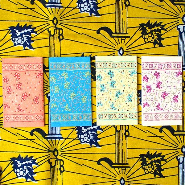 インド  chimanlals(チマンラール)メッセージカード LATIKA 花(封筒付き)【画像2】