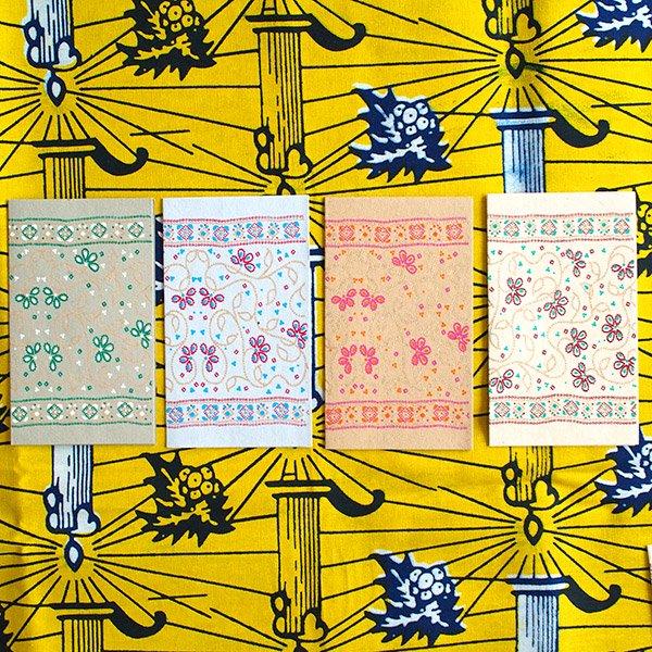 インド  chimanlals(チマンラール)メッセージカード LATIKA 花(封筒付き)【画像3】