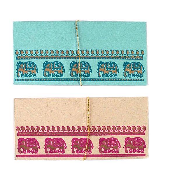 インド chimanlals(チマンラール) の封筒 ゾウ A【画像3】
