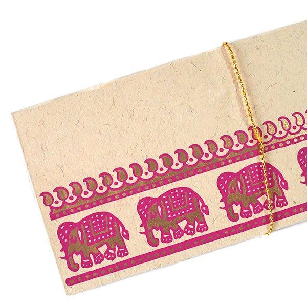 インド chimanlals(チマンラール) の封筒 ゾウ A【画像4】