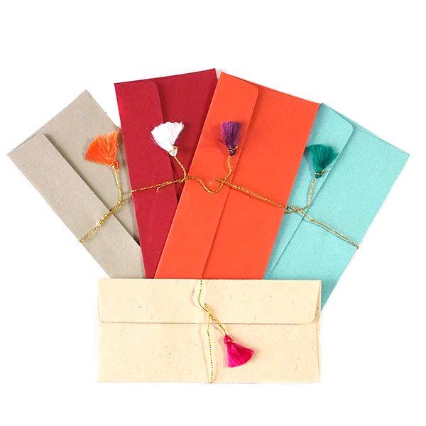 インド chimanlals(チマンラール) の封筒 ゾウ A【画像5】