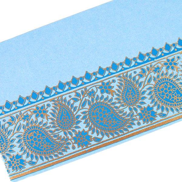 インド chimanlalsの封筒(ペイズリ  4色)【画像4】