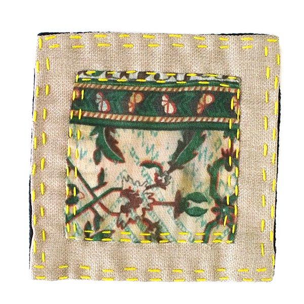 ベトナム カラフルな布で作られたエコなコースター【画像6】