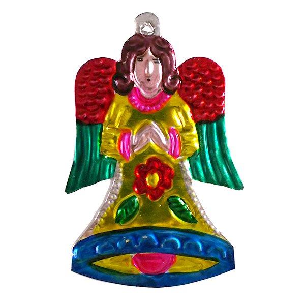 メキシコ ブリキオーナメント(天使)