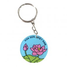 ベトナム 蓮の花(ロータス)キーホルダー