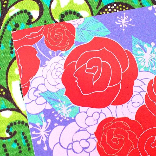 台湾 カラフルポストカード(薔薇 ローズ)【画像3】