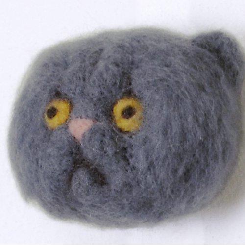 グレーペルシャ猫