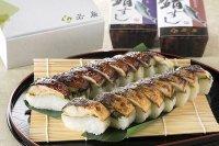 焼き鯖すし2種食べ比べセット(焼き鯖すし・醤油かおる焼き鯖すし)